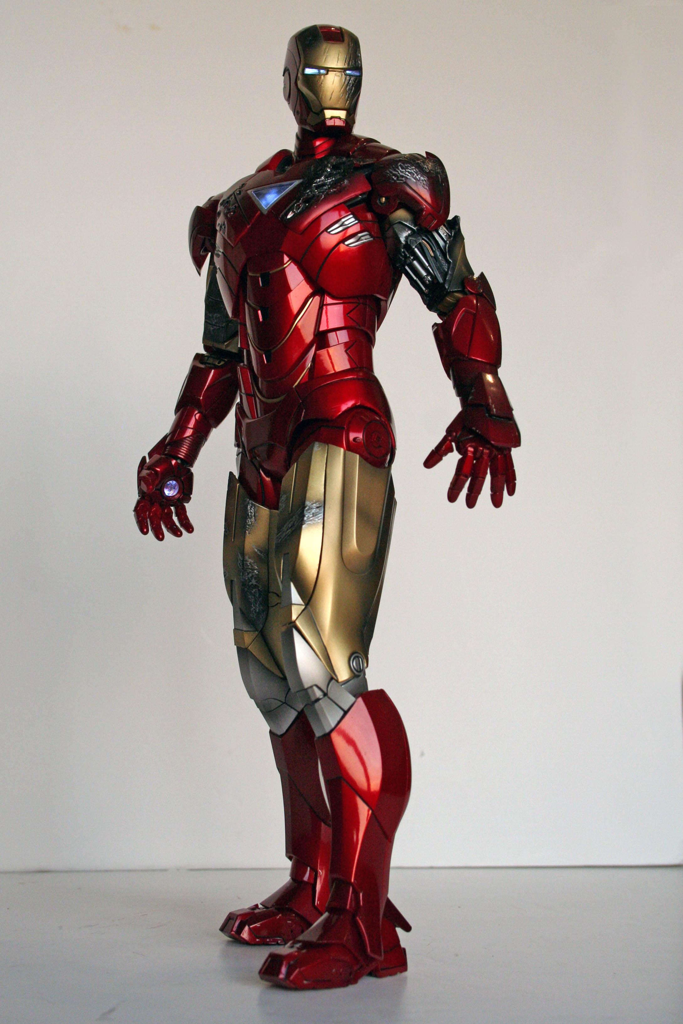 Tales To Astonish Review Hot Toys Iron Man Mark Vi