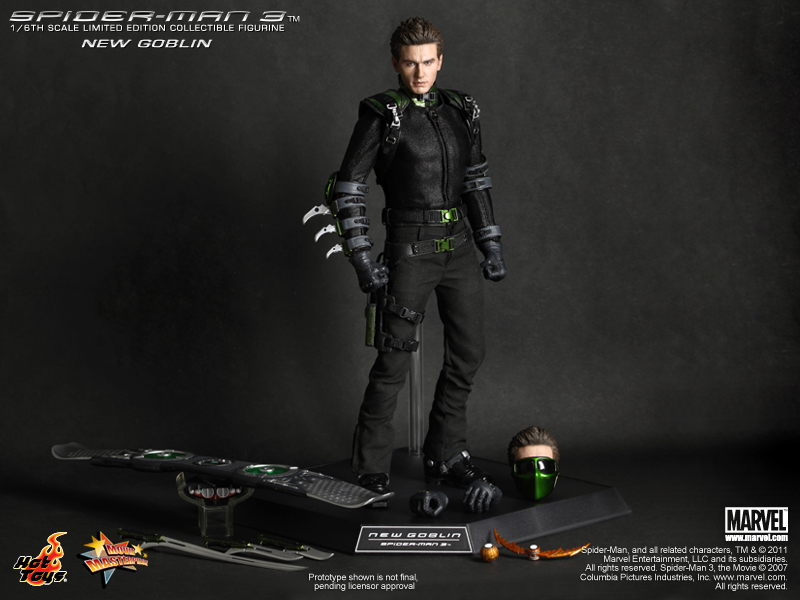 Tales To Astonish » announcement: Hot Toys Spider-man 3 ... Green Goblin Hot Toys