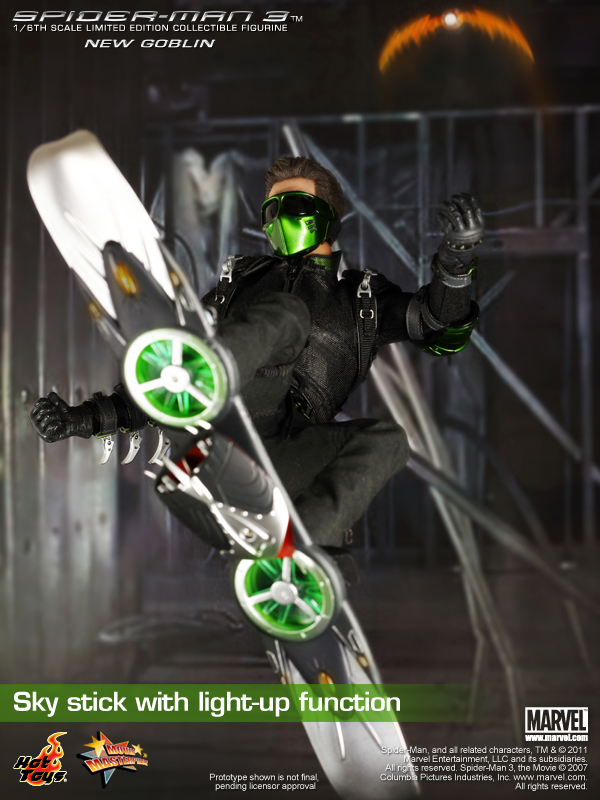 Tales To Astonish » announcement: Hot Toys Spider-man 3 ...